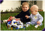 Nathaniel and Nicolas cord blood brothers