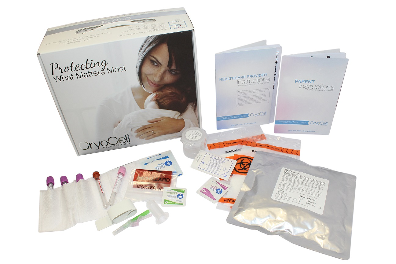 cord blood collection kit