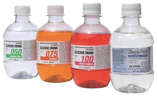 glucose solutions for glucose challenge test