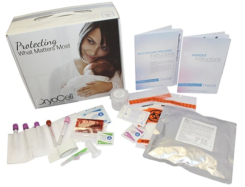 Advanced cord blood collection kit