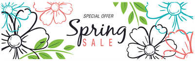 Spring Day Sale
